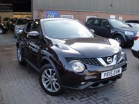 USED 2015 15 NISSAN JUKE 1.2 TEKNA DIG-T 5d 115 BHP GUARANTEED, MILEAGE, VERY GOOD CLEAN CONDITION, HUGE SPEC