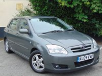2005 TOYOTA COROLLA 1.6 T3 COLOUR COLLECTION VVT-I 5d £2217.00
