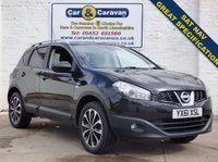USED 2011 61 NISSAN QASHQAI 1.6 N-TEC 5d 117 BHP SAT-NAV Dual A/C Bluetooth 0% Deposit Finance Available