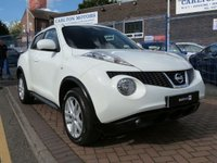 "USED 2011 61 NISSAN JUKE 1.5 ACENTA SPORT DCI 5d 110 BHP BLUETOOTH ~ AIR CON ~ CRUISE ~ CLIMATE CONTROL ~ PRIVACY GLASS ~ 6 SPEED ~ 17"" ALLOYS"