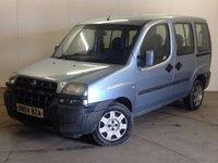 2004 FIAT DOBLO 1.9 ACTIVE JTD 5d 105 BHP R/CD PLAYER TOWBAR £390.00