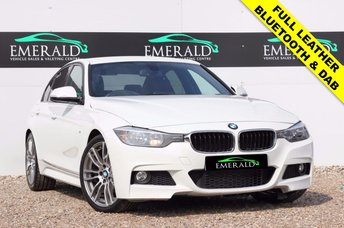 2014 BMW 3 SERIES 2.0 320D M SPORT 4d 181 BHP £15850.00