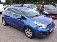 USED 2014 14 KIA RIO 1.4 CRDI 3 ECODYNAMICS 3d 88 BHP ****Great Value economical reliable family car with full main dealer service history, drives superbly****
