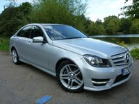 2012 MERCEDES-BENZ C CLASS 2.1 C250 CDI BLUEEFFICIENCY AMG SPORT 4d AUTO 202 BHP £13500.00