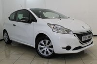 USED 2014 14 PEUGEOT 208 1.0 ACCESS 3DR 68 BHP AIR CONDITIONING + CRUISE CONTROL + RADIO/CD + AUXILIARY PORT + ELECTRIC WINDOWS