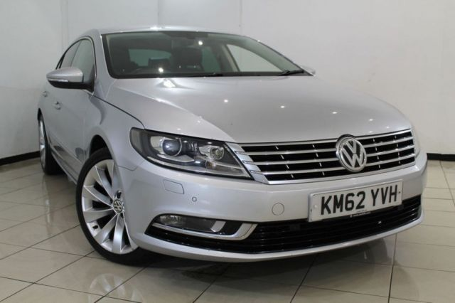 View our 2013 62 VOLKSWAGEN CC 2.0 GT TDI BLUEMOTION TECHNOLOGY DSG 4DR AUTOMATIC 168 BHP