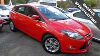 USED 2014 14 FORD FOCUS 1.6 TITANIUM NAVIGATOR TDCI 5d 113 BHP ONLY 40,000 MILES, MASSIVE SPEC, OUTSTANDING CONDITION THROUGHOUT