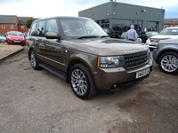 USED 2010 60 LAND ROVER RANGE ROVER 4.4 TDV8 VOGUE 5d AUTO 313 BHP 1 FORMER KEEPER MOT DEC17 5 DELAERSHIP SERVICES @ 16014mls, 33922mls, 51122mls, 69193mls, 84568mls & 2 OTHER @ 91504mls, 101373mls, With contrasting Brown Leather trim with White piping, Wood and Leather Steering Wheel with steering wheel controls, Heated steering wheel, Cruise Control, Television, DAB radio, Automatic lights, Paddle shift gear change, USB doc, iPod doc, Cup holders, Power Start, Electric sunroof, Air conditioning, Wood pack, Chrome pack, Reversing camera, Harmon Kardon logic 7