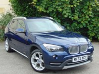 USED 2012 62 BMW X1 2.0 XDRIVE20D XLINE 5d  **FULL LEATHER HEATED INTERIOR**