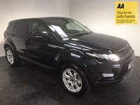 USED 2011 61 LAND ROVER RANGE ROVER EVOQUE 2.2 SD4 PURE TECH 5d AUTO 190 BHP FSH-LEATHER-PANROOF-CAMERA-NAV