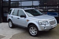 USED 2007 07 LAND ROVER FREELANDER 2 2.2 TD4 HSE 5d 159 BHP *FULL SERVICE HISTORY* IMMACULATE FULL BLACK LEATHER