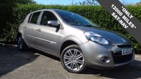 2012 RENAULT CLIO 1.1 DYNAMIQUE TOMTOM 16V 5d 75 BHP **ONLY 12000 MILES** OUTSTANDING CONDITION THROUGHOUT £5295.00