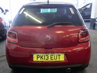 USED 2013 13 CITROEN DS3 1.6 E-HDI DSTYLE PLUS 3d 90 BHP Very LOW MILEAGE -ONLY 14,000 Miles-WAS £7499 NOW £6999 SAVING £500 FLASH SALE BE QUICK