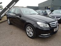 2012 MERCEDES-BENZ C CLASS 2.1 C220 CDI BLUEEFFICIENCY EXECUTIVE SE 5d 168 BHP £10990.00
