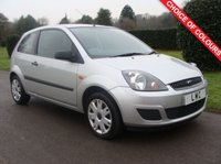 USED 2006 56 FORD FIESTA 1.2 STYLE 16V 3d 78 BHP