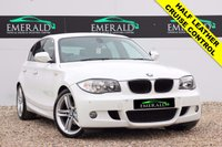 """USED 2010 60 BMW 1 SERIES 2.0 118D M SPORT 5d 141 BHP **£0 DEPOSIT FINANCE AVAILABLE**SECURE WITH A £99 FULLY REFUNDABLE DEPOSIT** HALF LEATHER UPHOLSTERY, HEATED FRONT SEATS, BMW PROFESSIONAL, AUX INPUT, CRUISE CONTROL, PARKING SENSORS FRONT & REAR, ELECTRIC WINDOWS, DUAL CLIMATE CONTROL, AIR CON, PRIVACY GLASS AND 18"""" ALLOYS"""