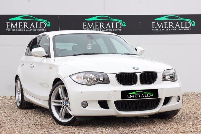2010 60 BMW 1 SERIES 2.0 118D M SPORT 5d 141 BHP