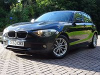 2013 BMW 1 SERIES 1.6 116D EFFICIENTDYNAMICS 5d 114 BHP £7333.00