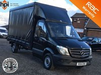 2014 MERCEDES-BENZ SPRINTER 2.1 313 CDI CURTAINSIDER £11790.00