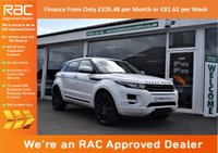 USED 2011 11 LAND ROVER RANGE ROVER EVOQUE 2.2 SD4 PRESTIGE LUX 5d AUTO 190 BHP FINANCE FROM ONLY £326.48pm or £81.62 per week
