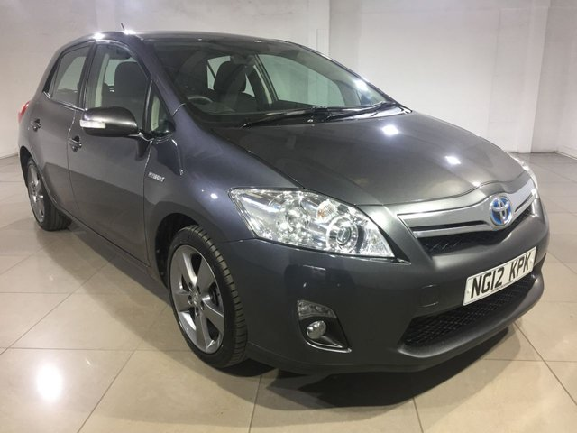 View our 2012 12 TOYOTA AURIS 1.8 T4 5d AUTO 99 BHP