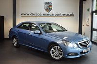 USED 2009 09 MERCEDES-BENZ E CLASS 3.0 E350 CDI BLUEEFFICIENCY AVANTGARDE 4DR 231 BHP + MERCEDES SERVICE HISTORY + FULL GREY EATHER INTERIOR + BLUETOOTH + CRUISE CONTROL + HEATED SEATS + PARKING SENSORS + 17 INCH ALLOY WHEELS +