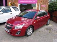2012 CHEVROLET CRUZE 1.8 LTZ 5d AUTO 139 BHP £5995.00