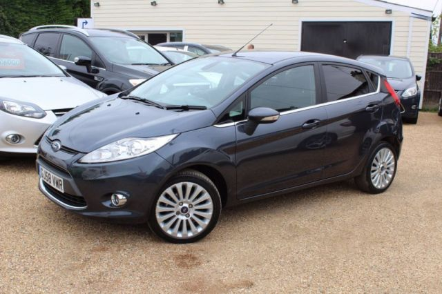 View our 2008 58 FORD FIESTA 1.4 TITANIUM 5d 96 BHP