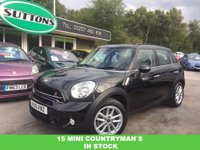 2015 MINI COUNTRYMAN 2.0 COOPER SD 5d AUTO 141 BHP £12989.00