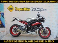 USED 2015 15 TRIUMPH STREET TRIPLE RX GOOD&BAD CREDIT ACCEPTED, OVER 500+ BIKES