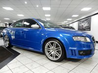 USED 2007 57 AUDI RS4 SALOON 4.2 RS4 QUATTRO 420 BHP 1 OWNER BUCKET SEATS SAT NAV