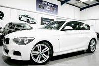 2014 BMW 1 SERIES 2.0 116D M SPORT 3d [£30 TAX+B/TOOTH+DAB+ALLOYS] £10450.00