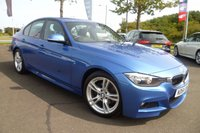 USED 2015 64 BMW 3 SERIES 2.0 320D M SPORT 4d 181 BHP ONE OWNER, FULL SERVICE HISTORY , FULL LEATHER,