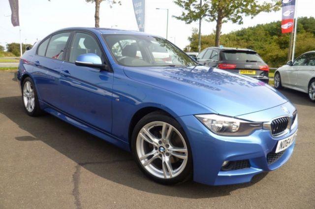 2015 64 BMW 3 SERIES 2.0 320D M SPORT 4d 181 BHP