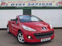 2010 PEUGEOT 207 1.6 CC GT SPORT 2d 108 BHP £3990.00