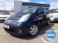2007 NISSAN NOTE 1.6 SE 5d 109 BHP £SOLD