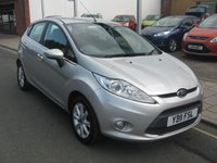 USED 2011 11 FORD FIESTA 1.2 ZETEC 5d 81 BHP one owner, service history, air conditioning, 45,615 miles.