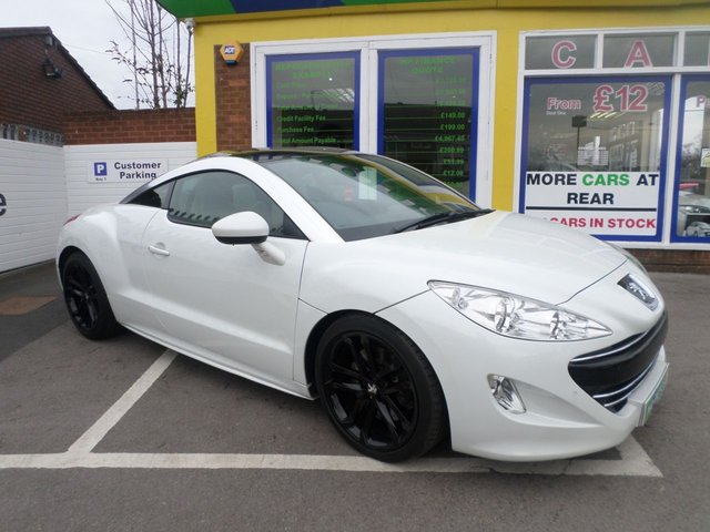 USED 2010 60 PEUGEOT RCZ 2.0 HDI GT 2d 163 BHP TEST DRIVE TODAY JUST ARRIVED