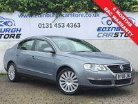 USED 2008 08 VOLKSWAGEN PASSAT 1.9 HIGHLINE TDI 4d 103 BHP PRICE INCLUDES A 6 MONTH RAC WARRANTY, 1 YEARS MOT WITH 12 MONTHS FREE BREAKDOWN COVER