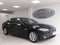 USED 2011 61 BMW 5 SERIES 2.0 520D SE 4d 181 BHP Great Example With Full Service History, Sat Nav & Leather