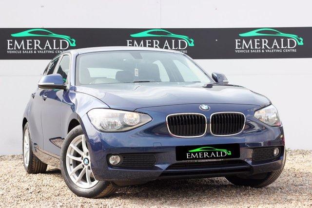 2014 BMW 1 SERIES 1.6 116D EFFICIENTDYNAMICS 5d 114 BHP