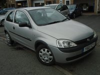 USED 2001 Y VAUXHALL CORSA 1.2 COMFORT 16V 3d AUTO 75 BHP CHEAP CORSA, NEW MOT ON SALE