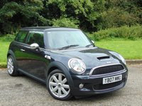 USED 2007 07 MINI HATCH COOPER 1.6 COOPER S 3d 172 BHP LOW MILEAGE MINI WITH FULL LEATHER