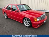 USED 1992 J MERCEDES-BENZ 190 E AMG COSWORTH LOOK FOR HIRE, WEDDING / PROM / FILM / TV 80s & 90s RETRO CLASSICS AVAILABLE FOR HIRE!