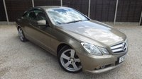USED 2010 10 MERCEDES-BENZ E CLASS 3.0 E350 CDI BLUEEFFICIENCY SE 2dr AUTO Huge Spec, Sat Nav, Leather