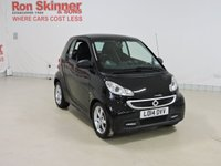 USED 2014 14 SMART FORTWO COUPE 1.0 EDITION 21 MHD 2d AUTO 71 BHP