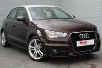 USED 2013 63 AUDI A1 1.6 SPORTBACK TDI S LINE 5d 105 BHP TECH PACK + CONTRAST ROOF