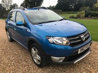 USED 2014 63 DACIA SANDERO 0.9 STEPWAY LAUREATE TCE 5d 90 BHP PARK ASSIST, BLUETOOTH