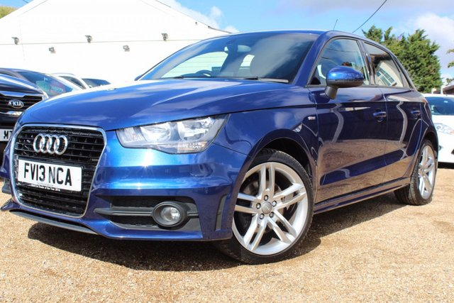 View our 2013 AUDI A1 1.6 SPORTBACK TDI S LINE 5d 105 BHP