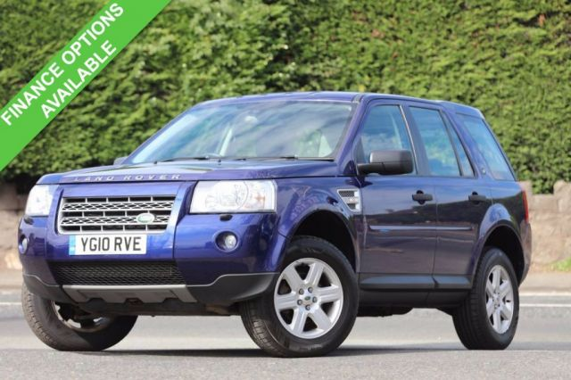 2010 10 LAND ROVER FREELANDER 2.2 TD4 E GS 5d 159 BHP